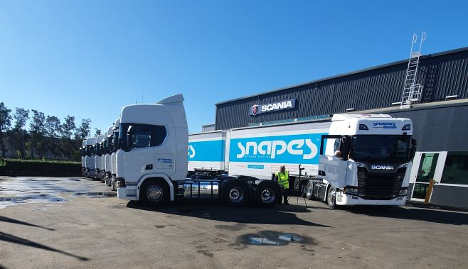 PM News Snapes gets new Scanias